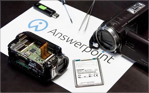 ビデオカメラ修理画像